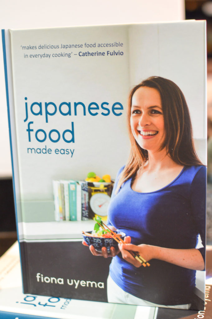 Japanese Food made easy by Fiona Uyema is now available at all good book shops