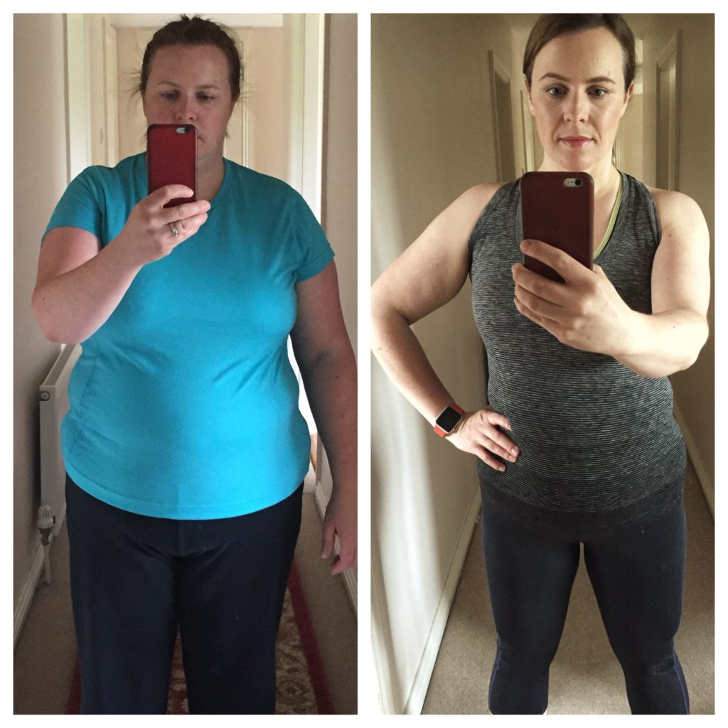Saucepan Kids Debbie Woodward - Getting fit with Avena Leisure Ballisodare Sligo Before and After photo 2