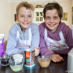 Family baking with Superfoods