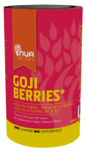 Saucepan Kids try out Nua Naturals Goji Berries
