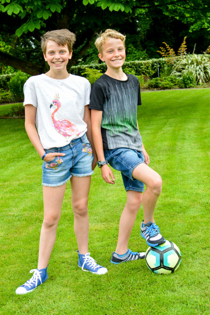 Marks and Spencer kids denim shorts
