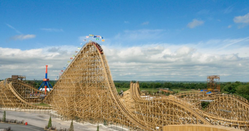 Chu Culainn Coaster Tayto Park - Review by Saucepan Kids
