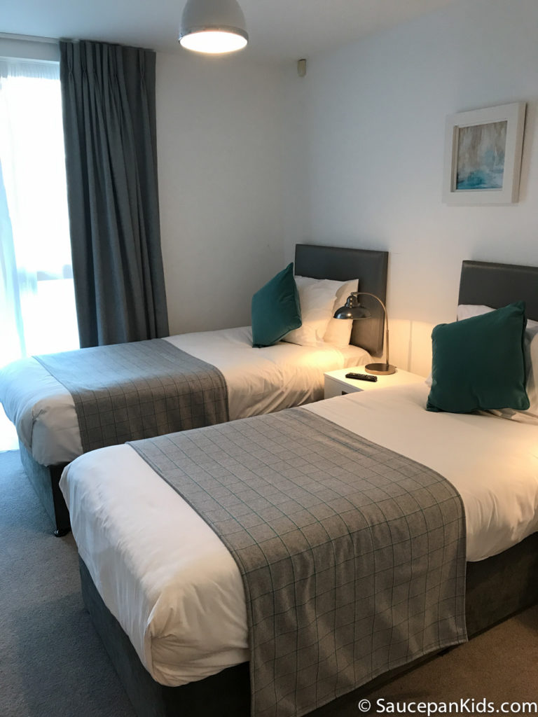 Saucepan Kids review Talbot Suites at Stonebridge in Wexford - Twin Bedroom