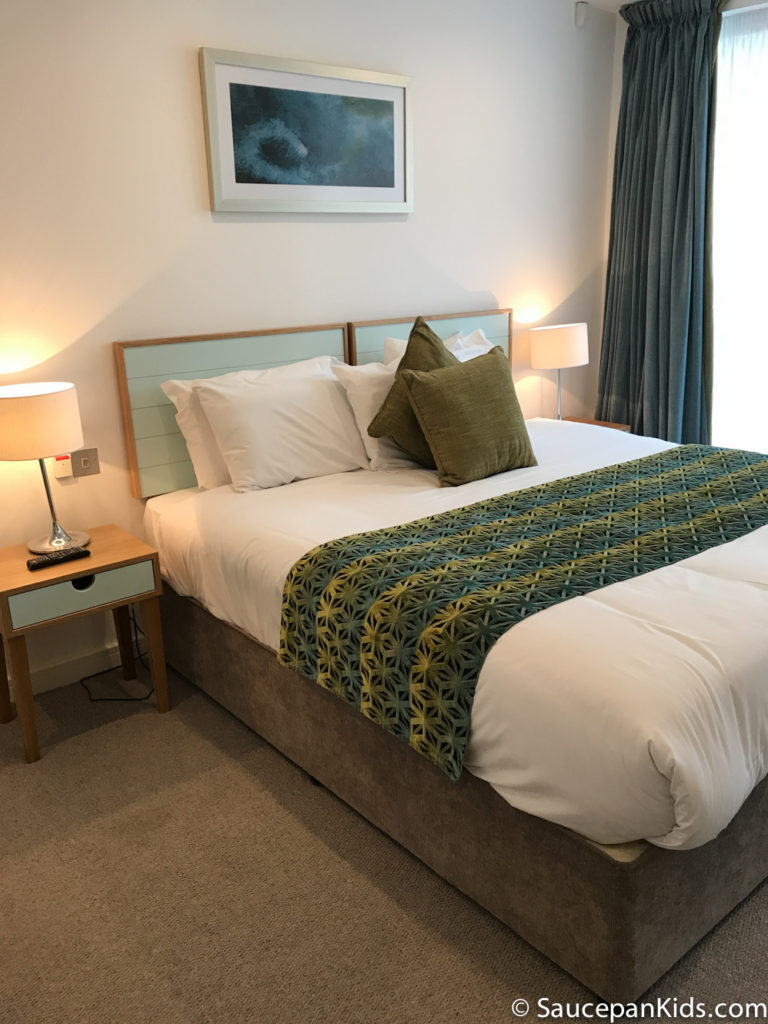 Saucepan Kids review Talbot Suites at Stonebridge in Wexford - Master Bedroom