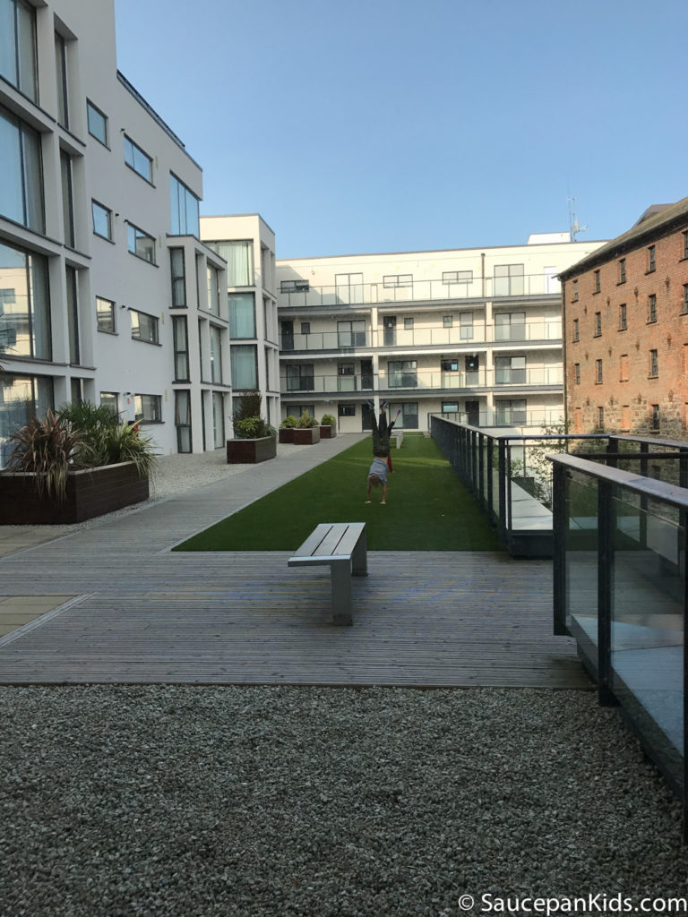 Saucepan Kids review Talbot Suites at Stonebridge in Wexford - Outside Space