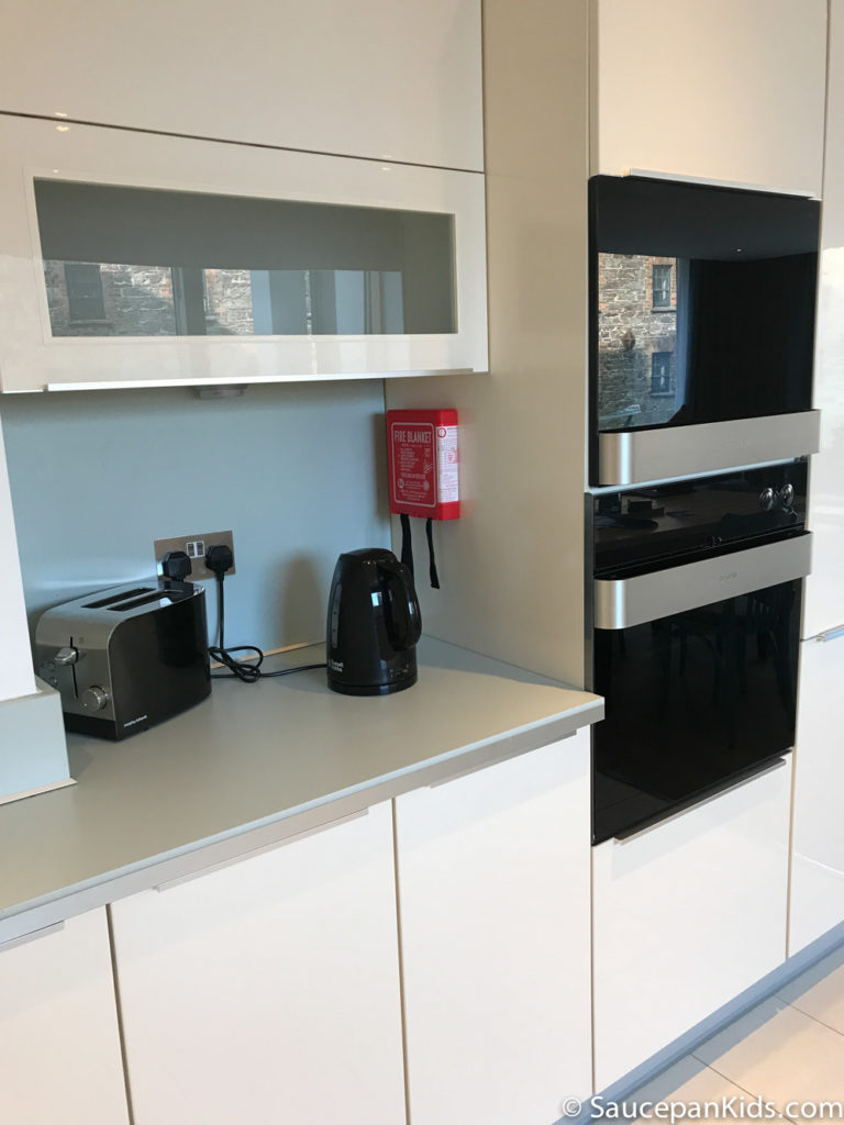 Saucepan Kids review Talbot Suites at Stonebridge in Wexford - Kitchen units