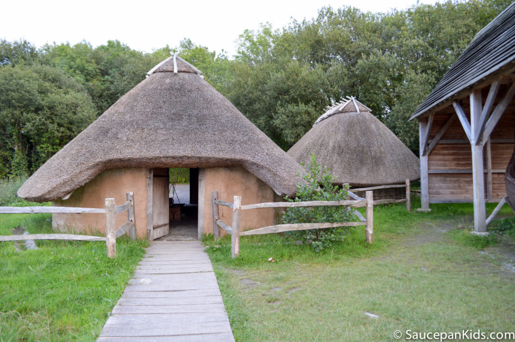Irish National Heritage Park Ringfort Stayover review - by Saucepan Kids features