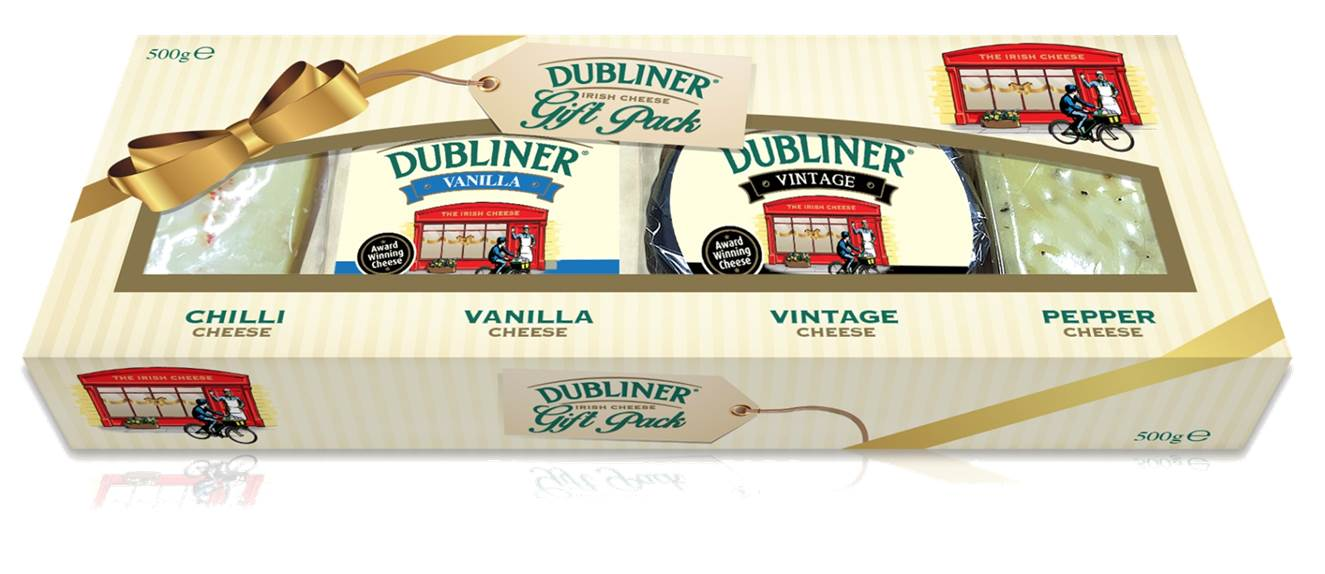 Dubliner Cheese Gift Pack for Christmas - Saucepan Kids - the pack