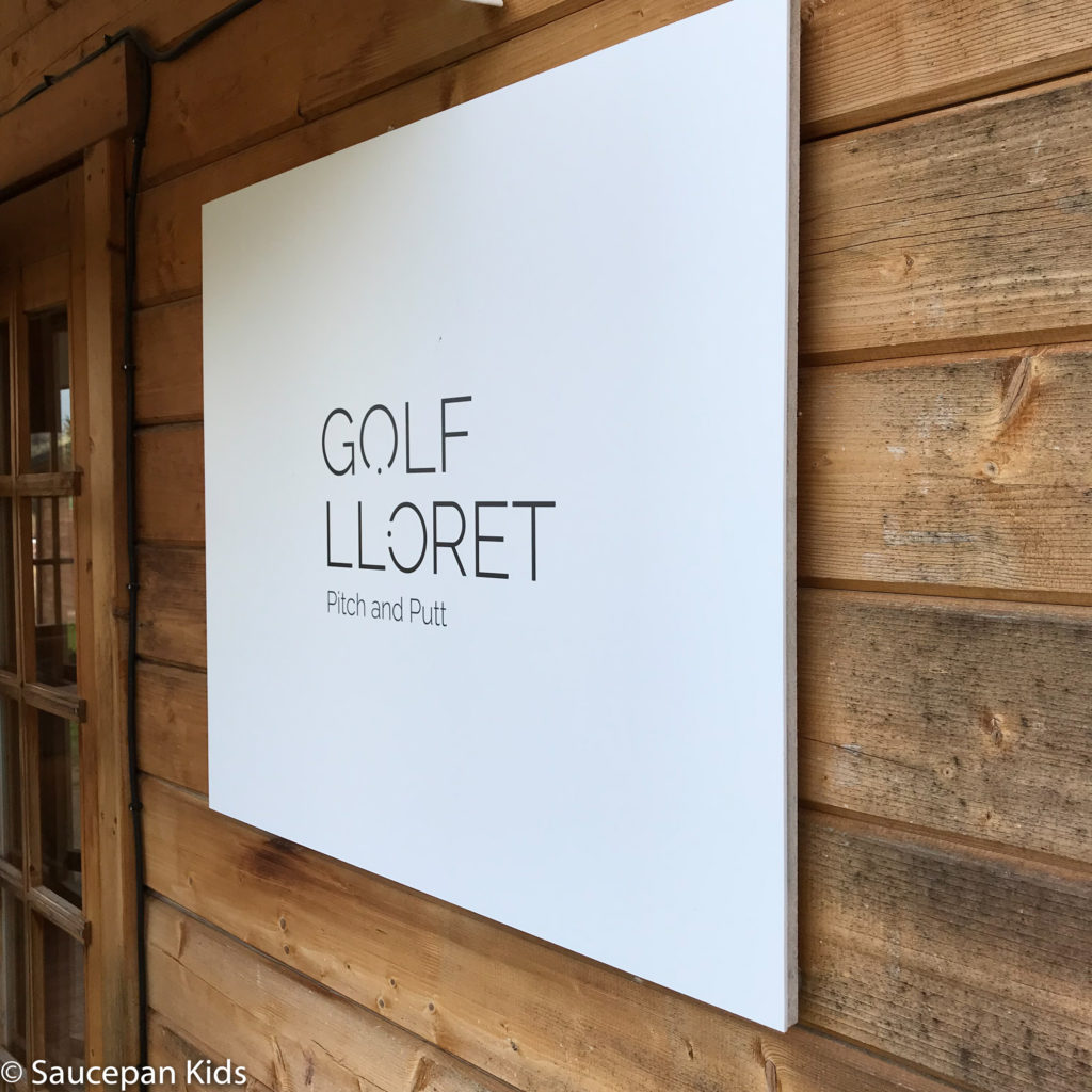 thing-to-Family Friendly things to do in Costa Brava with Saucepan Kids - Catalonia - Spain - A family golf lesson at Golf Lloret in Lloret del Mar