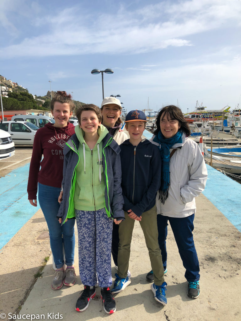 thing-to-Family Friendly things to do in Costa Brava with Saucepan Kids - Catalonia - Spain - A family visit to the fish auction in Roses - with our tour guide