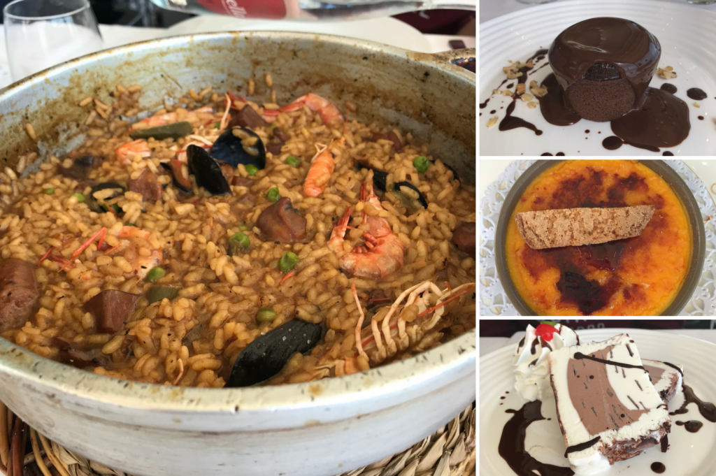 family friendly lunch at Restaurant Simon S'Agaro Catalonia Spain - Saucepan Kids Costa Brava Girona things for families to do