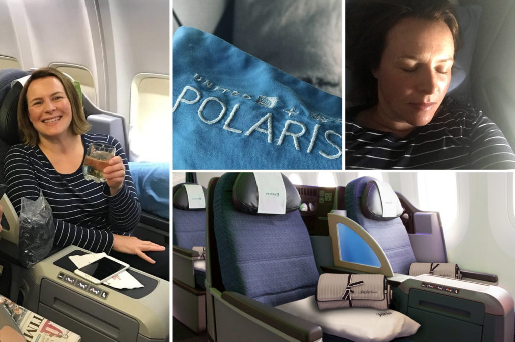 saucepan Kids review United Business Polaris - what to expect on a united polaris flight