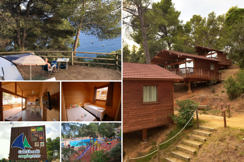 Saucepan Kids visit Costa Brava in Catalonia Spain - family friendly campsites in Spain - top things to do with kids in Catalonia - Cala Levado Campsite Tossa de Mar review