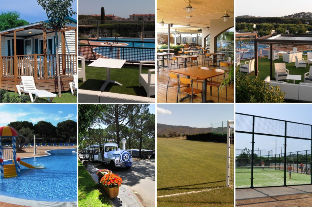 Saucepan Kids visit Costa Brava in Catalonia Spain - family friendly campsites in Spain - top things to do with kids in Catalonia - Eurocamping campsite Plat da j'Aro