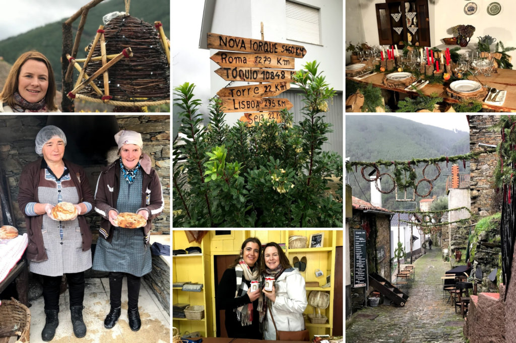 Debbie Woodward from Saucepan Kids visit Vila Natal in Obidos in Central Portugal - Top Christmas Markets in Portugal - Visiting Cabeca Christmas Market by day