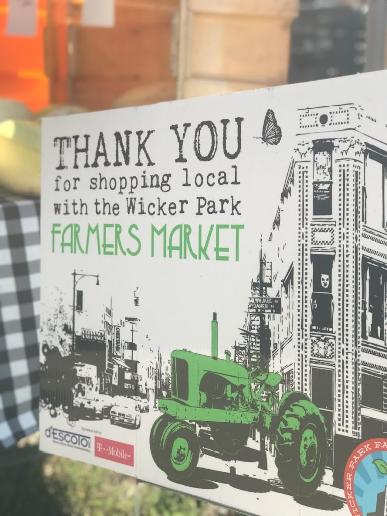 Wicker Park Farmer's Market - top things for kids to do in Chicago - Saucepan Kids Debbie Woodward visits Chicago to see how family friendly this US city is