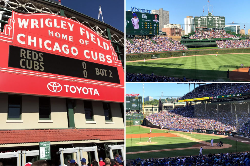 Chicago Cubs baseball game - top things for kids to do in Chicago - Saucepan Kids Debbie Woodward visits Chicago to see how family friendly this US city is