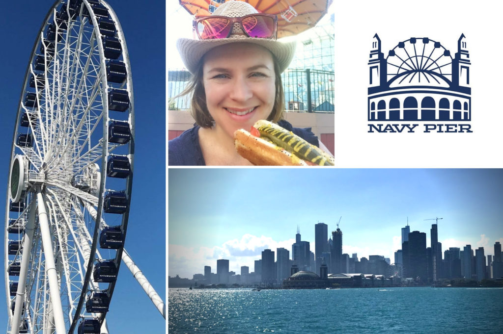 Navy Pier Chicago - top things for kids to do in Chicago - Saucepan Kids Debbie Woodward visits Chicago to see how family friendly this US city is