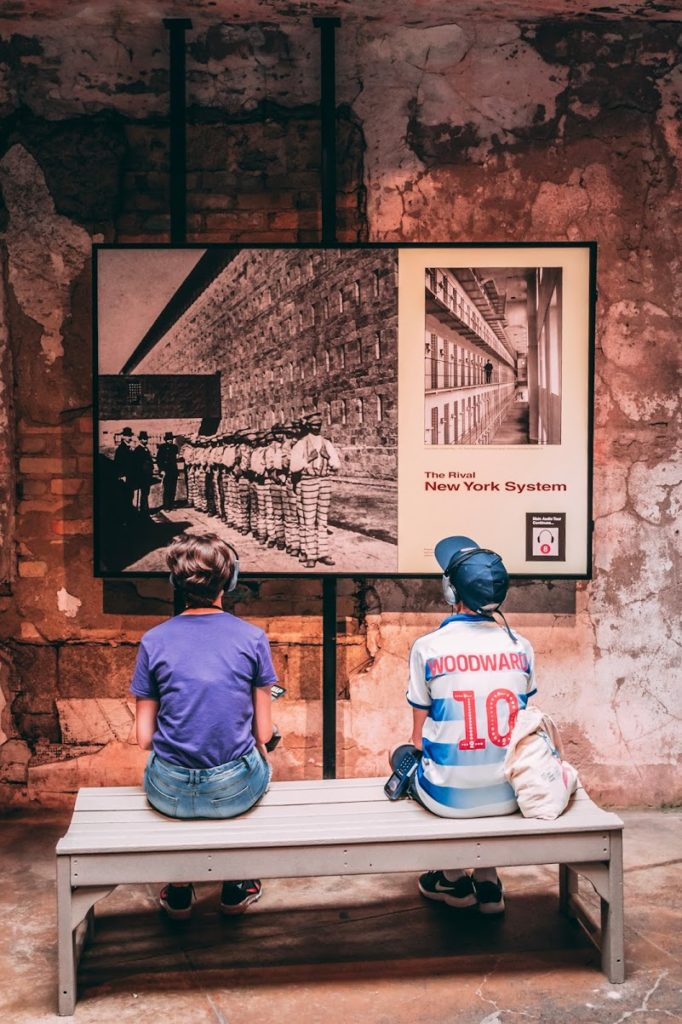 Top family friendly things to do in Philadelphia - Top things to do with kids in Philadelphia - Eastern State Penitentiary - the kids