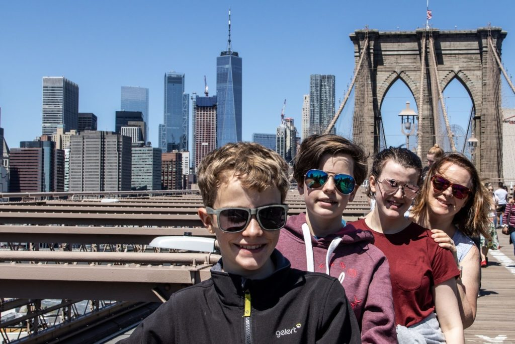 Top family friendly things to do in New York - Top things to do with kids in New York - Brooklyn Bridge