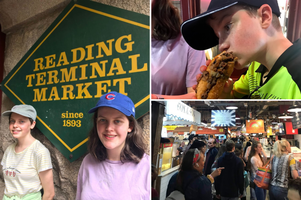 Top family friendly things to do in Philadelphia - Top things to do with kids in Philadelphia - Reading Terminal Market