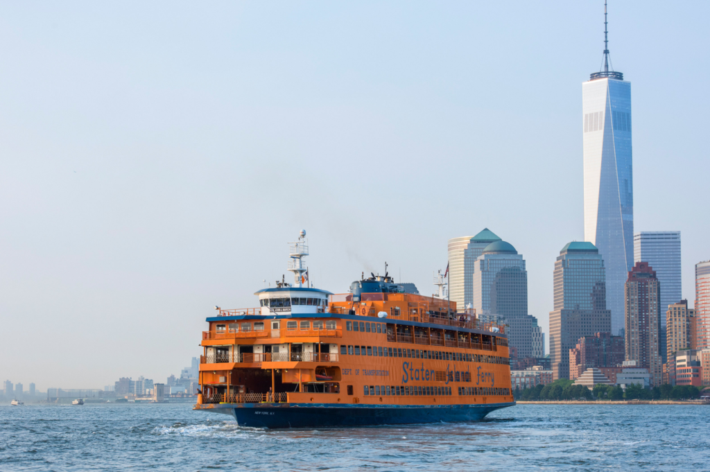 Top family friendly things to do in New York - Top things to do with kids in New York - Statten Island Ferry