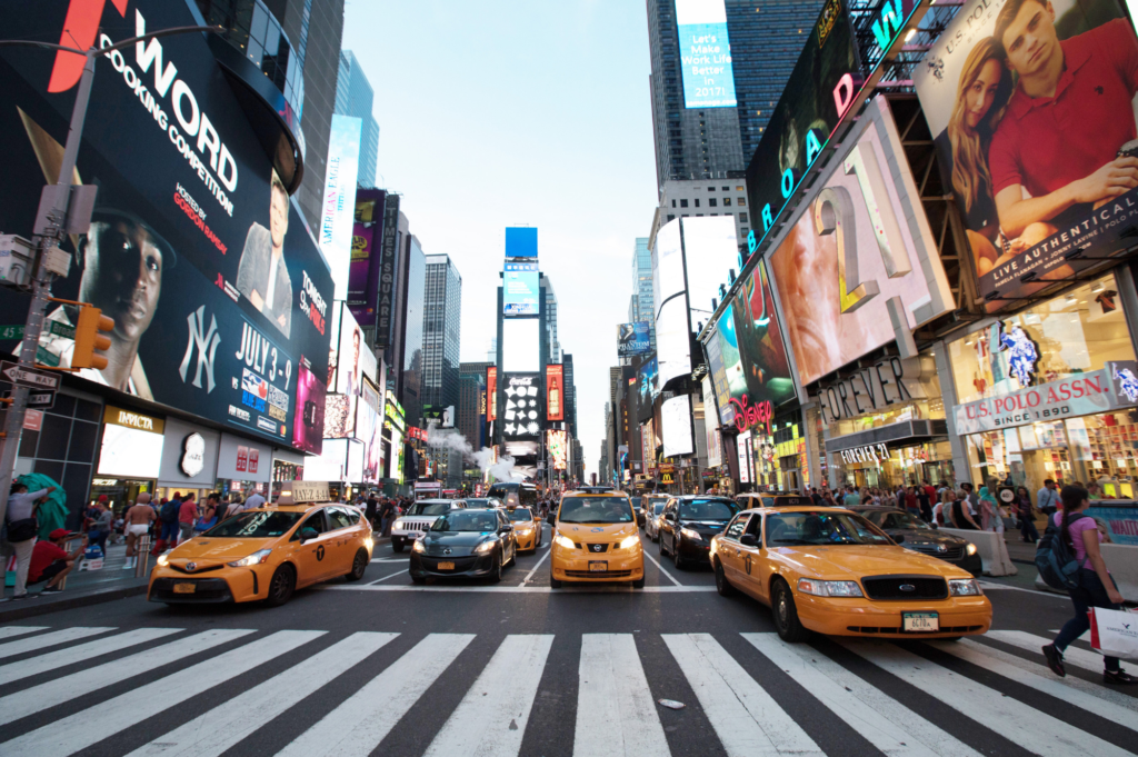 Top family friendly things to do in New York - Top things to do with kids in New York - Time Square