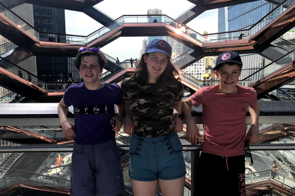 Top family friendly things to do in New York - Top things to do with kids in New York - The Vessel at Hudson Yards