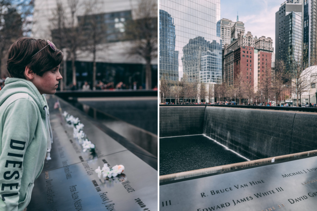 Top family friendly things to do in New York - Top things to do with kids in New York - 9/11 Memorial site