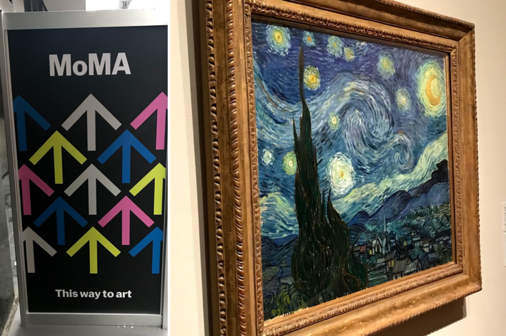 Top family friendly things to do in New York - Top things to do with kids in New York - MOMA