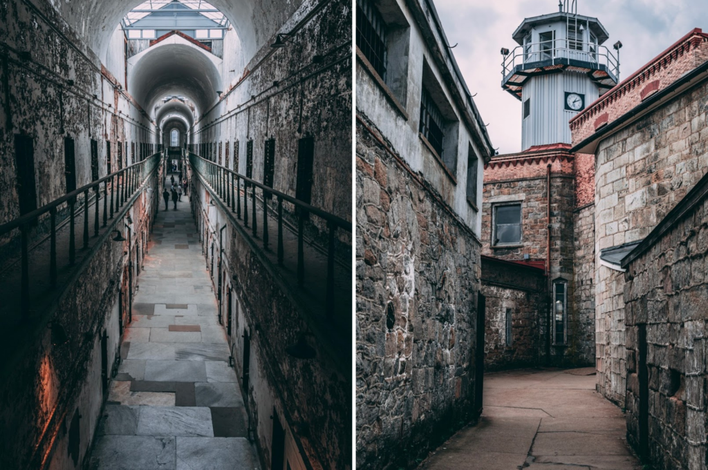 Top family friendly things to do in Philadelphia - Top things to do with kids in Philadelphia - Eastern State Penitentiary - interior