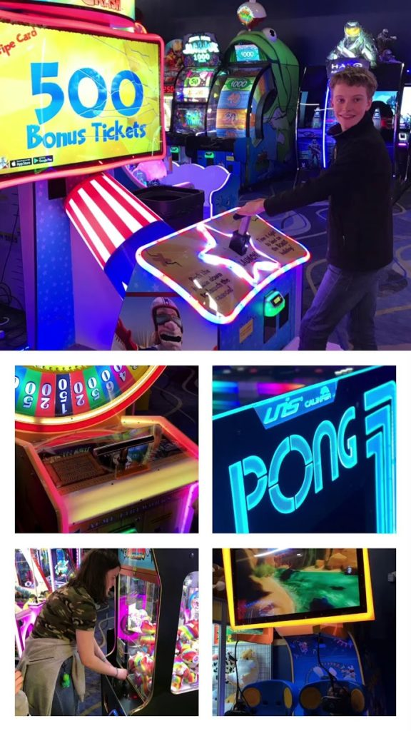 Top family friendly things to do in Cape Cod - Top things to do with kids in Cape Cod - Ten Pin Eatery Arcade Games Room