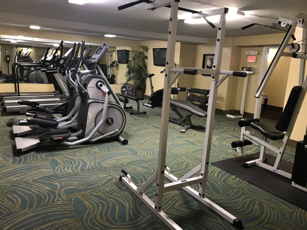 Top family friendly things to do in Cape Cod - Top things to do with kids in Cape Cod - Bayside resort hotel gym