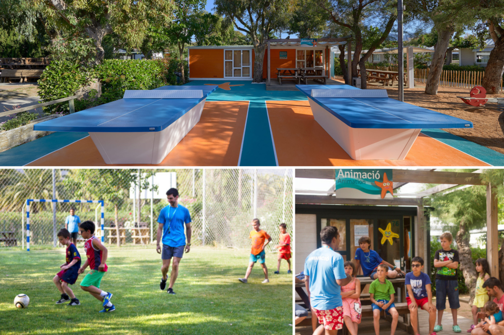 Top family friendly places to stay in Roses Costa Brava - Saucepan Kids review Camping Salata - kids minclub