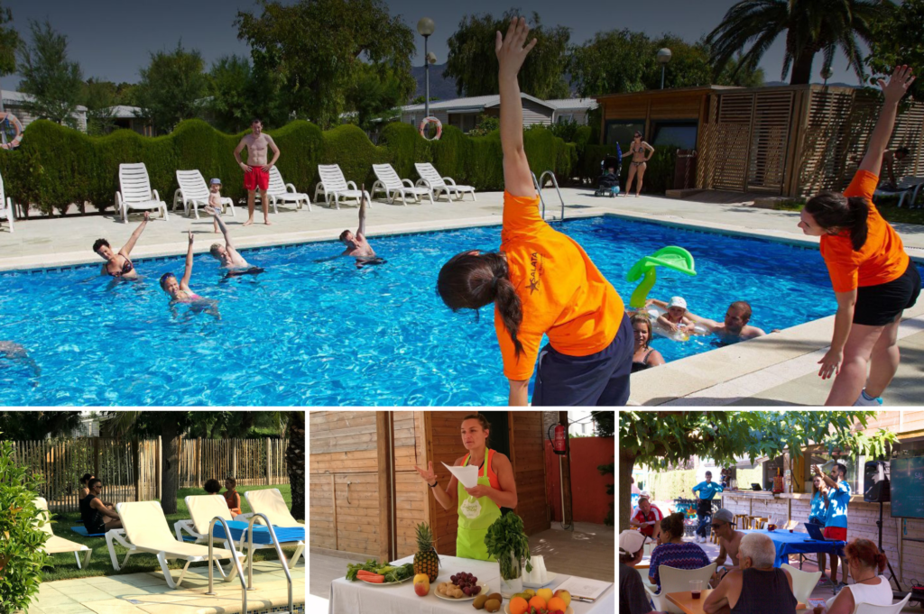 Top family friendly places to stay in Roses Costa Brava - Saucepan Kids review Camping Salata - fun pool activities