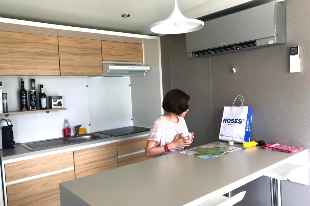 Top family friendly places to stay in Roses Costa Brava - Saucepan Kids review Camping Salata - Tamuntana interior