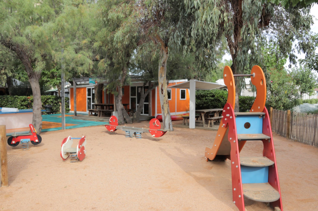 Saucepan Kids visit and review Camping Salata in Roses, Costa Brava - Camping Salata playground