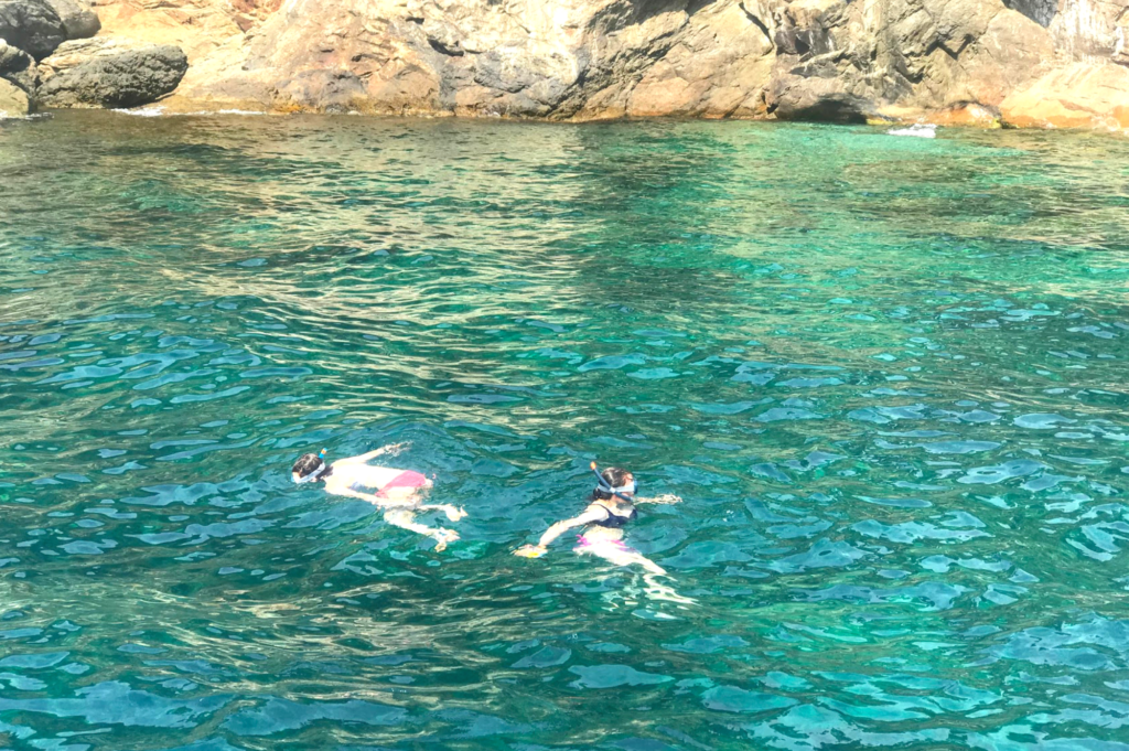 Top things to do with teenagers in Roses Costa Brava Catalonia Spain - Teen friendly things to do - Saucepan Kids review Cap de Creus coves for snorkelling with the kids