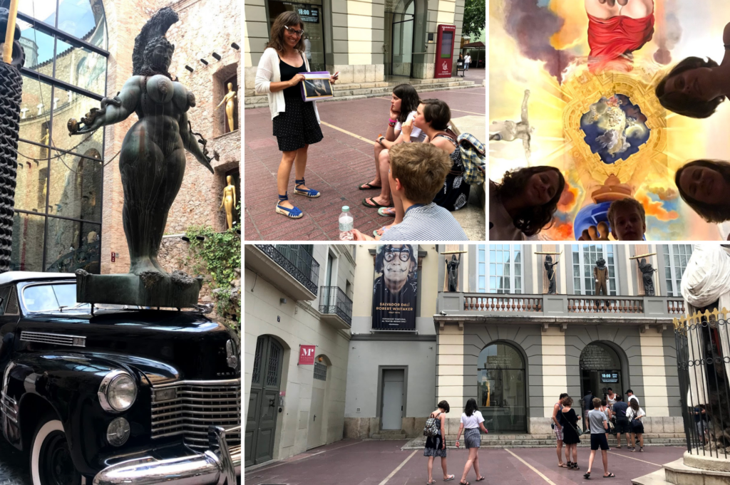 Top things to do with teenagers in Roses Costa Brava Catalonia Spain - Teen friendly things to do - Saucepan Kids review Dali Museum Figueres review