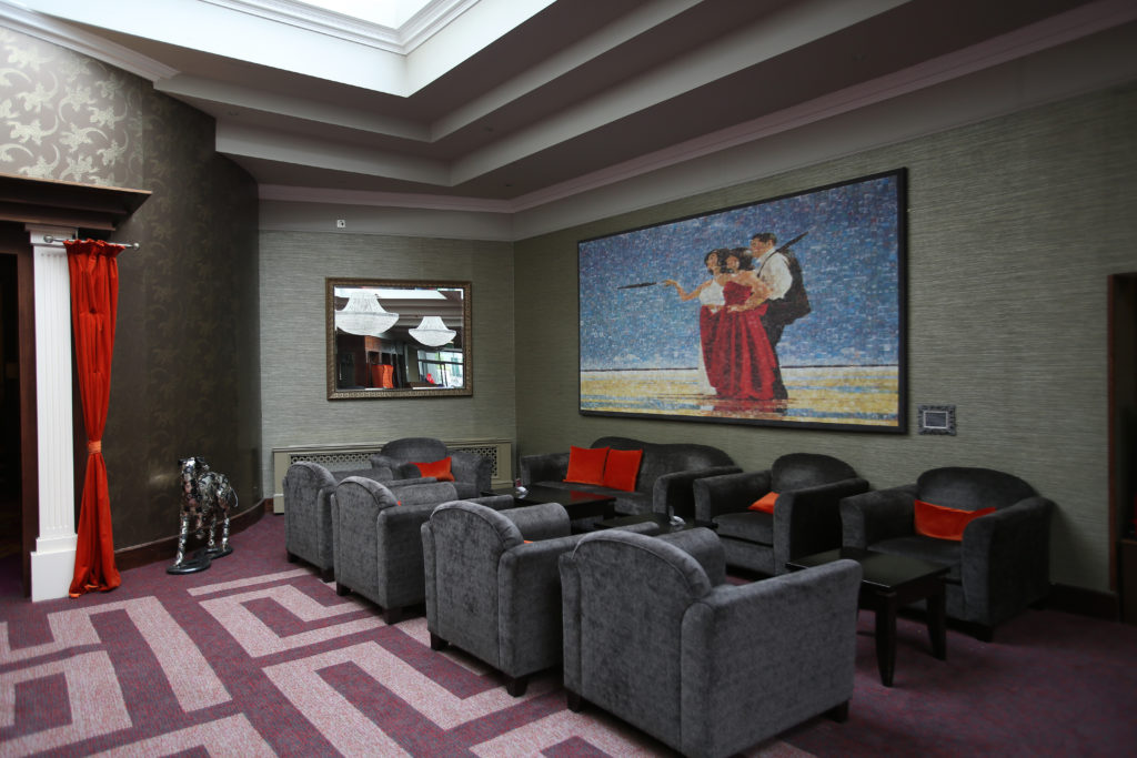 The front lobby - The Hillgrove Hotel and Spa Monaghan - A Review by Saucepan Kids - Irish multi award-winning family travel and food blog