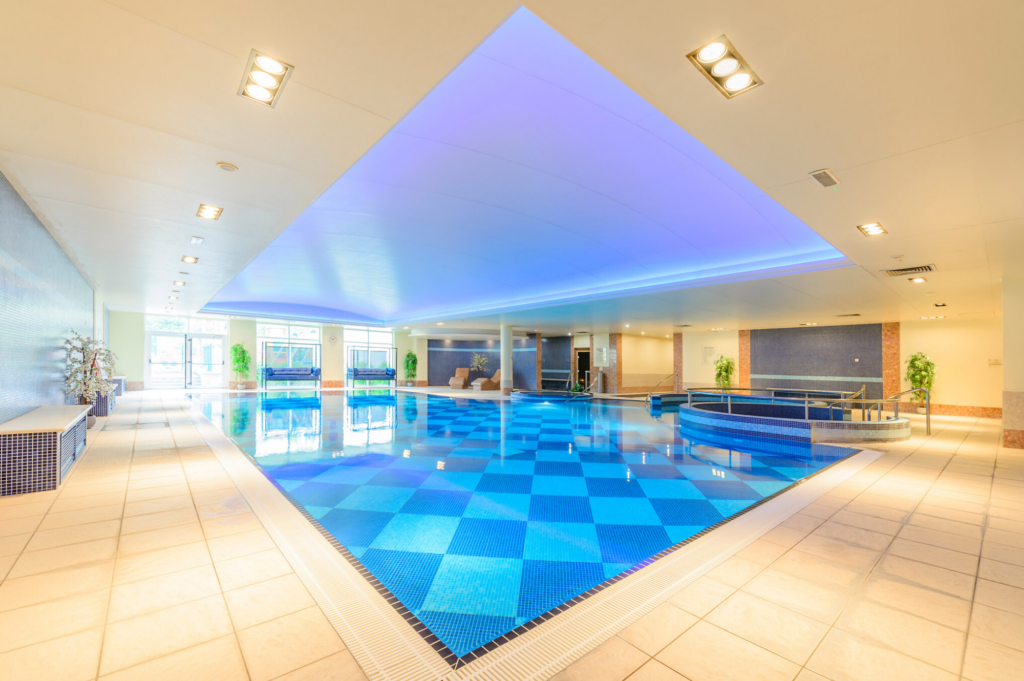 The Pool - The Hillgrove Hotel and Spa Monaghan - A Review by Saucepan Kids - Irish multi award-winning family travel and food blog