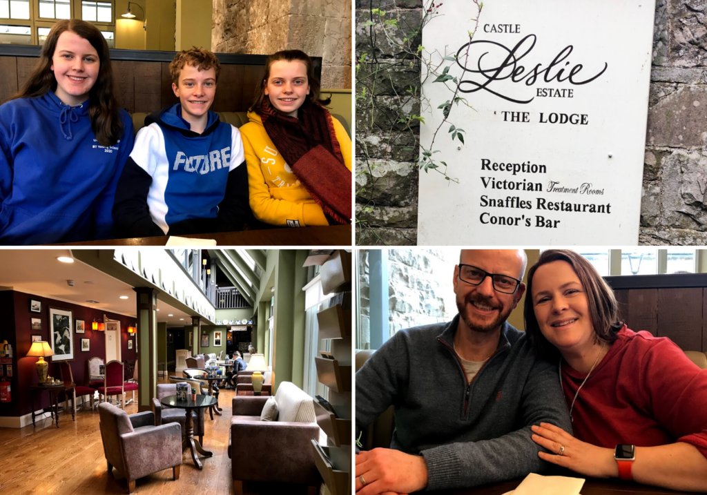 saucepan Kids visit Co. Monaghan to try and review family-friendly things to do in Monaghan - Things for teenagers to do in Monaghan - Castle Leslie family-friendly places to eat in Monaghan - The Lodge
