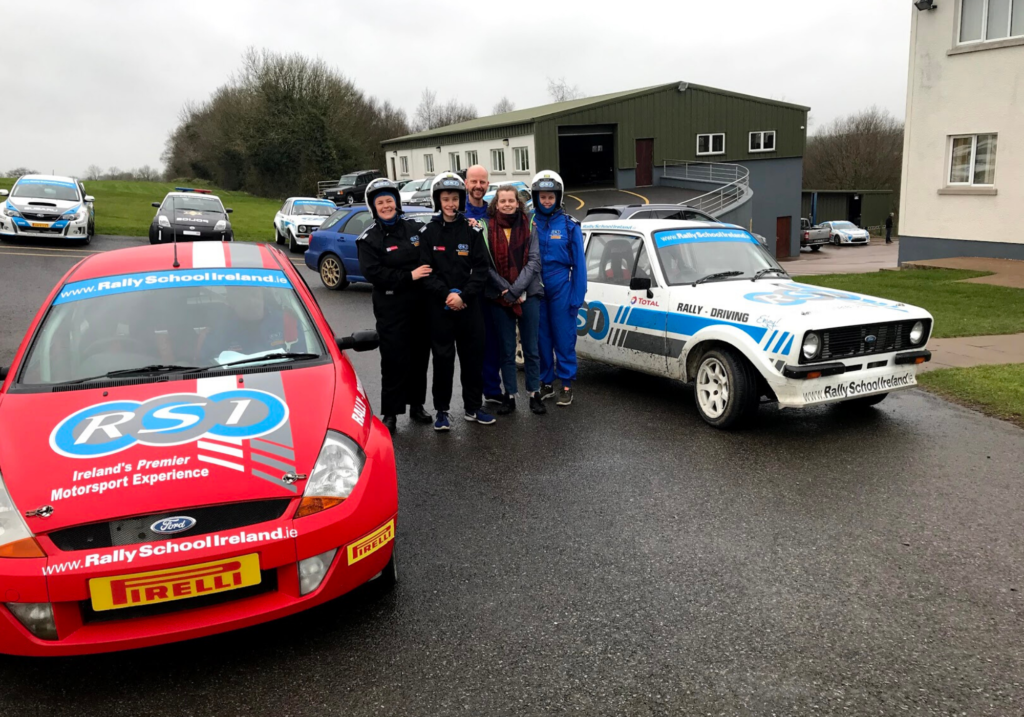 saucepan Kids visit Co. Monaghan to try and review family-friendly things to do in Monaghan - Things for teenagers to do in Monaghan - Rally School Ireland family rally driving fun