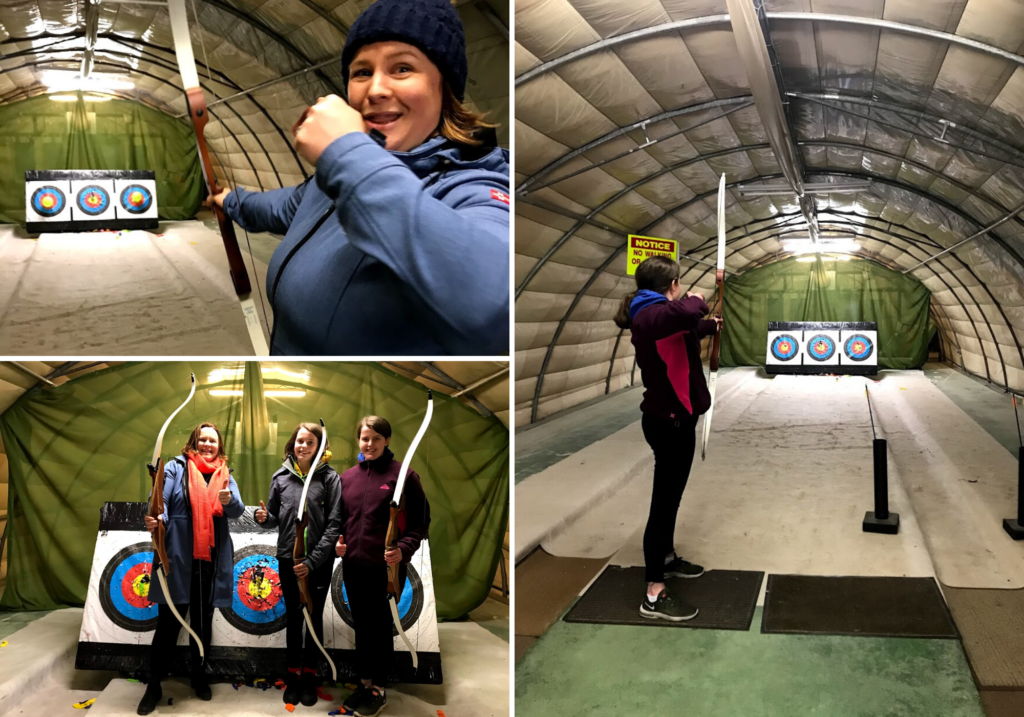 saucepan Kids visit Co. Monaghan to try and review family-friendly things to do in Monaghan - Things for teenagers to do in Monaghan - Irish Country Quads - Archery