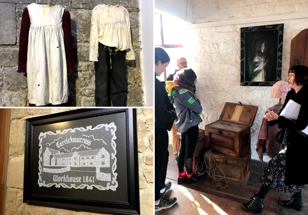 saucepan Kids visit Co. Monaghan to try and review family-friendly things to do in Monaghan - Things for teenagers to do in Monaghan - Carrickmacross Workhouse Tour