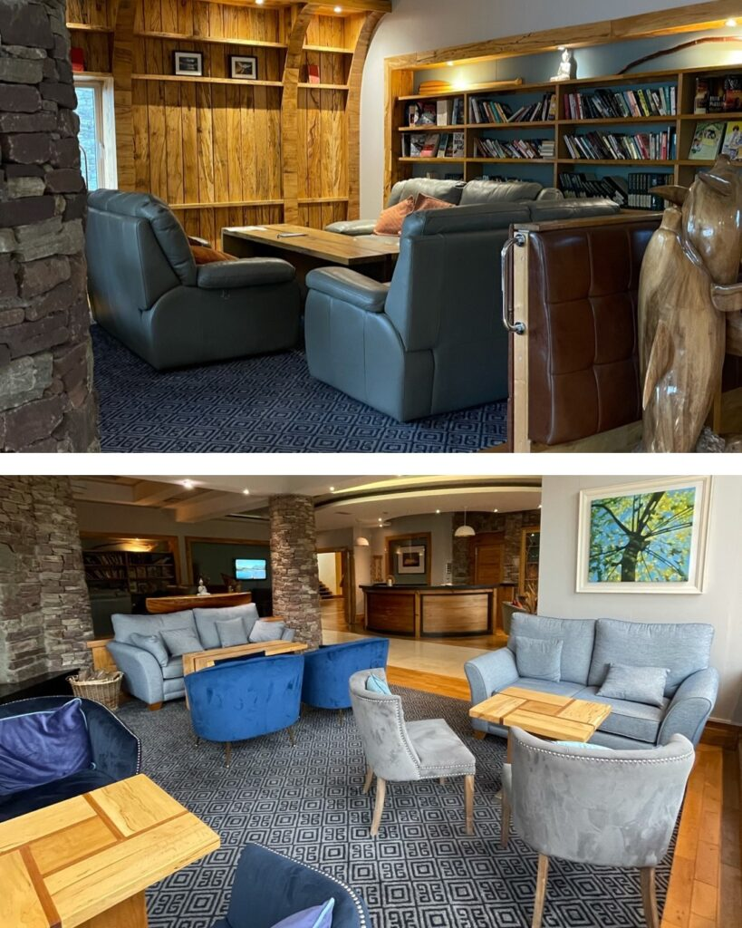 Saucepan Kids review Delphi Adventure Resort Galway - Things to do in Mayo Galway Ireland with teenagers - the library