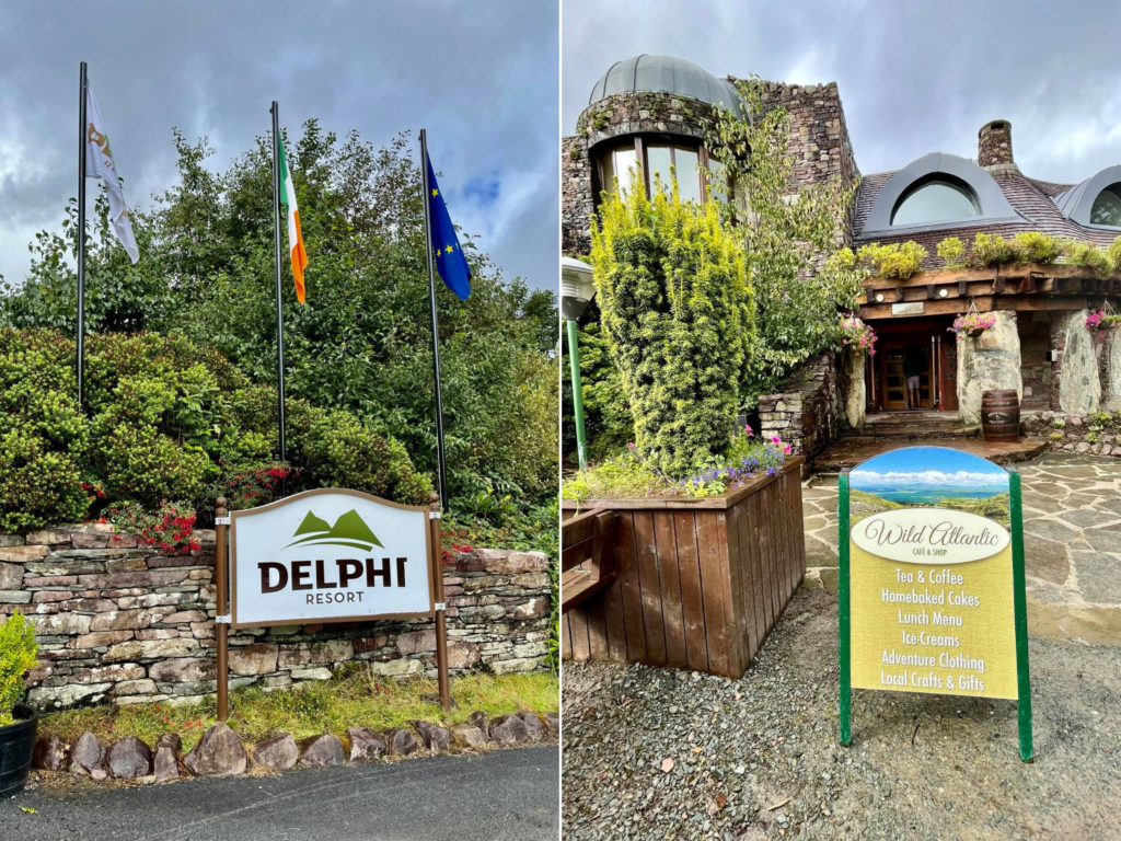Saucepan Kids review Delphi Adventure Resort Galway - Things to do in Mayo Galway Ireland with teenagers - Delphi entrance